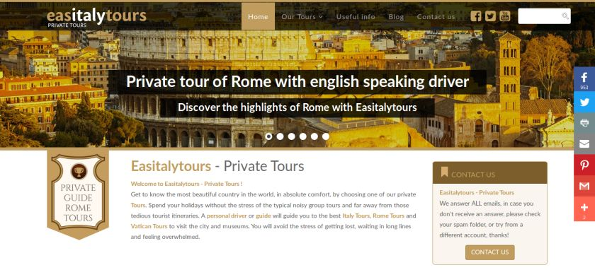 easitaly tour